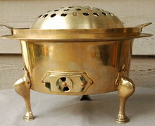 Solid Brass Thai  Hibachi Cooker Charcoal  Grill   * PRICE REDUCTION!*