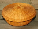 Splint Wood Wicker Basket ?Cedar? Pine?  * PRICE REDUCTION!*