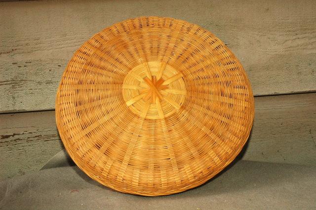 Splint Wood Wicker Basket ?Cedar? Pine?  * PRICE REDUCTION!*