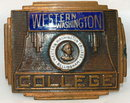 Western Washington Bellingham Belt Buckle   * PRICE REDUCTION!*