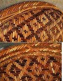 Rare Large Indian Basket  Peru Amazonian Bora Tribe