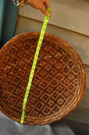 Rare Large Indian Basket  Peru Amazonian Bora Tribe