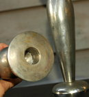 Nickle  over Bronze Candle Stick Holders  **PRICE REDUCTION**!!