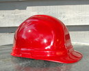 HARD HAT  ERB OMEGA II red construction safety  *PRICE REDUCTION!*