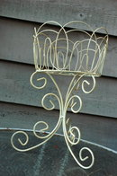 Plant Stand Plant   Holder Metal Vintage  Garden Shabby Chic
