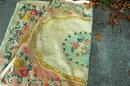 Hooked Wool Rug, vintage 35