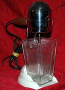 Drink Mixer, Art Deco Chrome Top