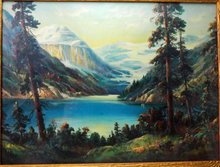Vintage William Thompson Print of Lake Louise