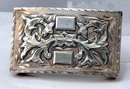Mexican Sterling Plata De Jalisco  Belt Buckle
