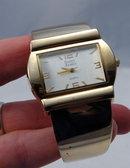 Fat Hinged Cuff  Bracelet  Quartz Watch by Saint James