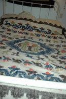 Hand Made Woven Wool Blanket Momostenango, Guatemala