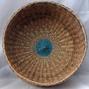 Sweet Grass Basket Great Lakes Region Native American , Large with Lid