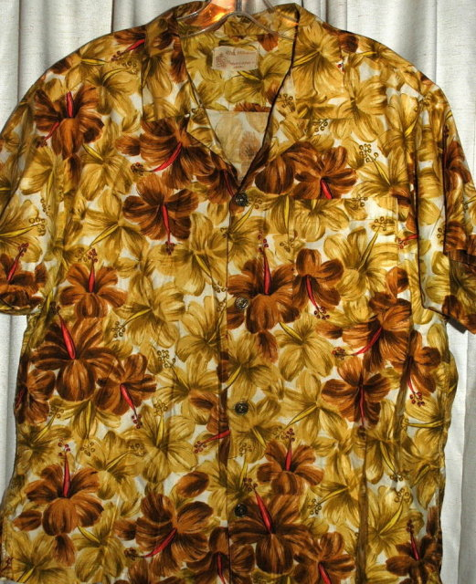 Vintage Royal Hawaiian Shirt  100% cotton