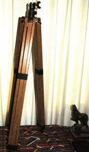 Oak Wood Tripod , Vintage  with a Mount Mechanism  * PRICE REDUCED !**