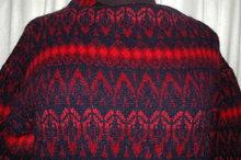 Iceland Wool Sweater Hand  Made in Sweden  by Jersey Modeller ,  Designer Hans Heitsch
