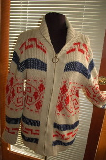 PENDLETON Zip Up Cardigan Sweater