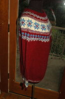 Austrian Sweater Hand Knit  Salzburg-Wien Innsbruck   Sz 52  * PRICE REDUCED !**