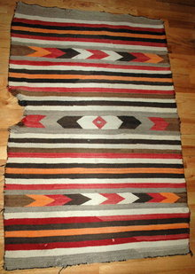 Very old Navajo Rug   48