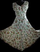Beautiful Couture Cherry Pattern Dress  feminine southern beauty    vintage dress **PRICE REDUCED!**.