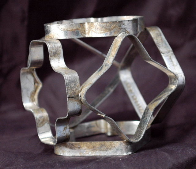 Rare Tin Mult Cookie Cutter Cube Ecko Holland