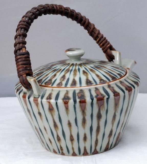 Hastings Pottery Stoneware Teapot British Modernist