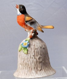 Towle Fine Bone China Bird Bell