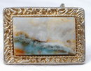 Picture Agate Belt Buckle