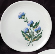 8 Iva-Lure by Crooksville USA Bread or Dessert Plates