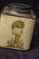 Antique Choisa SS Pierce Co. Ceylon Tea Tin  * PRICE REDUCED !*