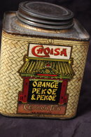 Antique Choisa SS Pierce Co. Ceylon Tea Tin  * PRICE REDUCED !*