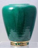 Dick Knox, California Pottery Urn Vase,  Mid-Century Oriental influence vase