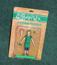 Accoutrements  Barista Action Figure