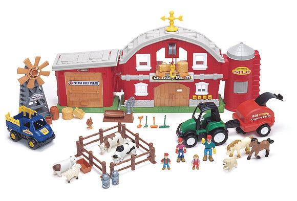 Farmer's World Country Farm Playset