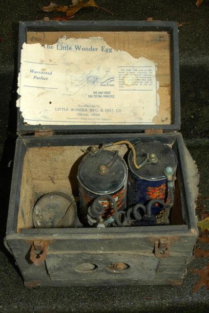 Antique Farm  Egg Candler, Electric, Antique, circa 1910