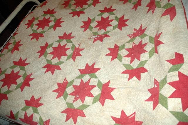 Antique  Hand Stitched Quilt  74