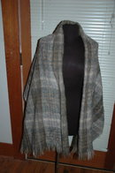 The Scotch House 100% Mohair  Tartan  Wrap or Shawl