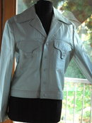 Western Leather Jacket , sz 40 Vintage  Men's Fashion