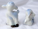 Very Old Lambs Salt and Pepper Shakers