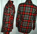 80's Wool Plaid Pendleton Lobo shirt, small