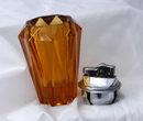 Amber Glass Table Lighter