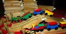 Brio Wooden Train & Tracks Lot  8 pounds