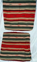 2 Southwestern Navajo  Motif Large Pillow Covers
