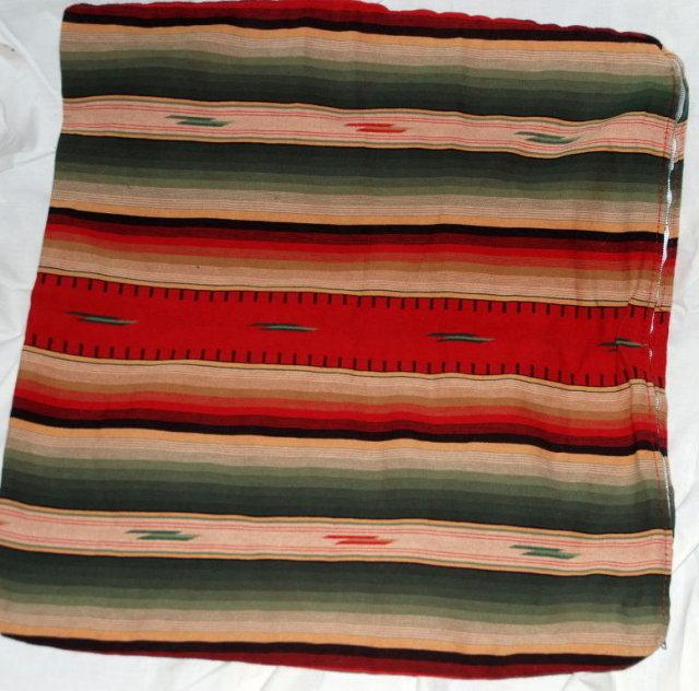 2 Southwestern Navajo  Motif Large Pillow Covers
