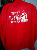 Miller High Life / Manny's Red Mill Tavern Nylon Windbreaker Jacket  **PRICE REDUCED**!!
