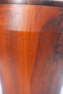 Vermilion Walnut, Solid Walnut Tall Ice Bucket , Mid-Century Modern