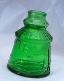 Green Glass Bitters Bottle, Cape May, Weaton N.J.