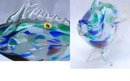 Art Glass Fish   24% Pbo Lead Crystal