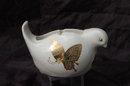 Porcelain Bird Tape Dispenser, Takahasi, Made in Japan