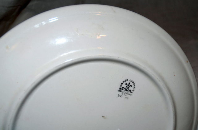 Homer Laughlin  Bone China 2 tiered serving plate PRICE REDUCED!
