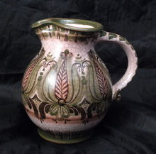 Handarbeit  Gmunden  Pottery  Milk Pitcher